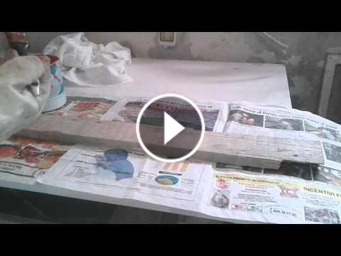 Come verniciare il legno spiegazione video extra fai for Verniciare il legno
